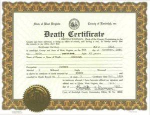 Penerjemah Tersumpah Akta Kematian Bahasa Inggris