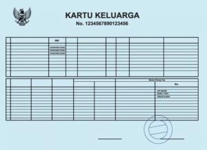 Kantor Penerjemah Kartu Keluarga Indonesia Inggris