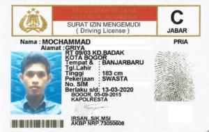 Penerjemah Tersumpah SIM Bahasa Inggris