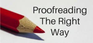 Profreading Proposal