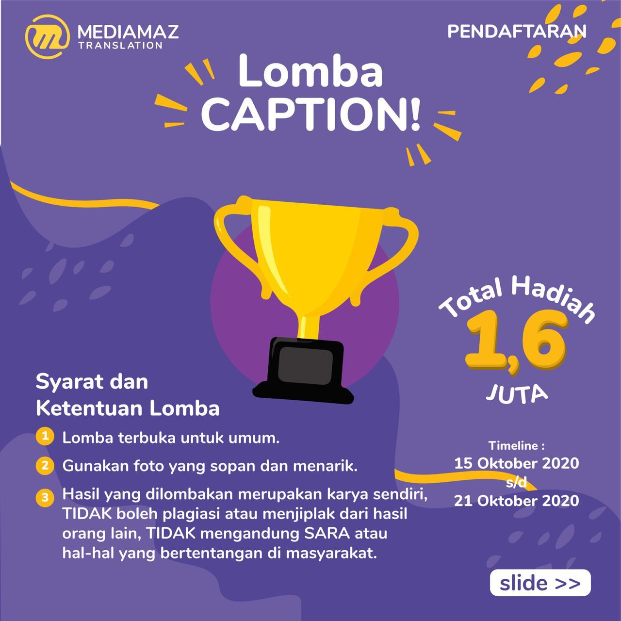 LOMBA CAPTION