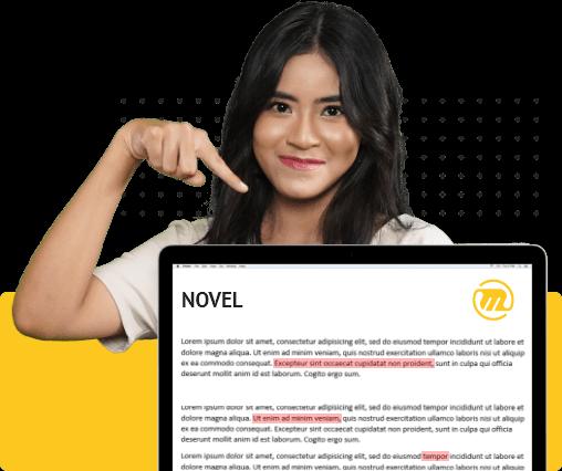 mediamaz proofreading novel
