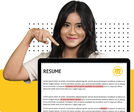 mediamaz proofreading resume