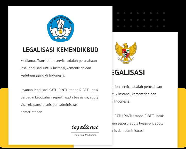 Jasa Legalisasi Kemendikbud