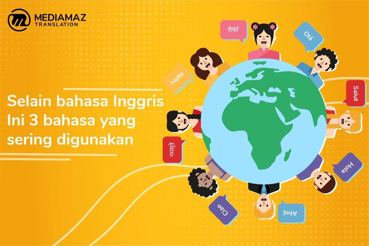 Bahasa Asing yang Menjadi Bahasa Internasional, Selain Bahasa Inggris