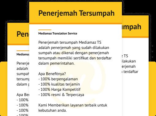 Penerjemah Tersumpah Jakarta Selatan