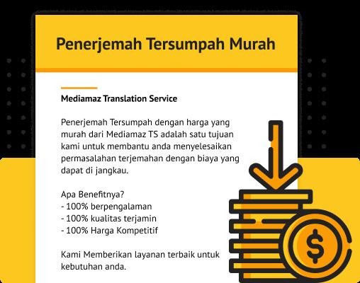 Penerjemah tersumpah murah