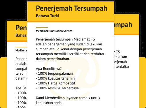 penerjemah tersumpah bahasa turki