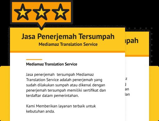 Rekomendasi Penerjemah Tersumpah