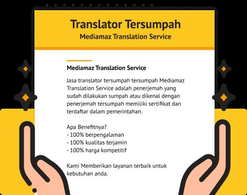 Translator Tersumpah