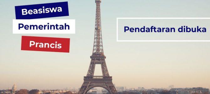 Program Beasiswa IFI Prancis Jenjang S2 2021 – 2022