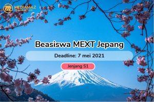 Beasiswa S1 Jepang 2021 Monbukagokusho/MEXT Scholarship
