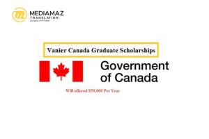 Beasiswa S3 Vanier Canada Graduate 2021 - Fully Funded