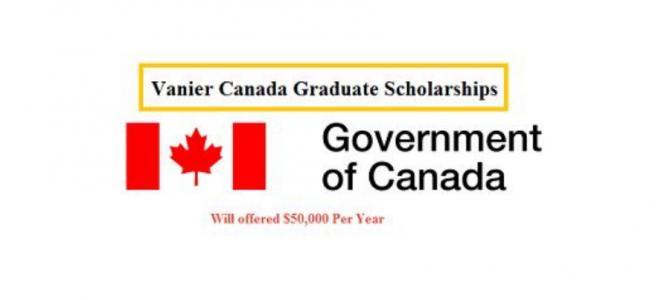 Beasiswa S3 Vanier Canada Graduate 2021 – Fully Funded