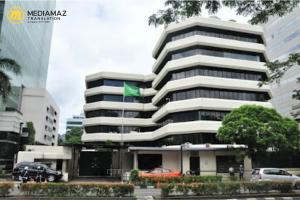 Kantor Kedutaan Besar Arab Saudi di Indonesia