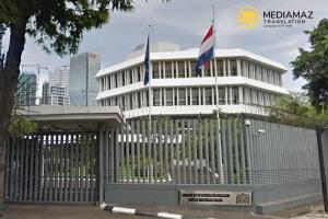 Kantor Kedutaan Besar Belanda di Indonesia