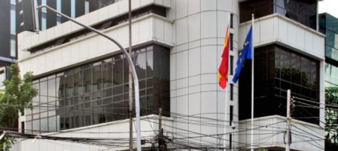 Lokasi Kantor Kedutaan Besar Spanyol di Indonesia